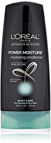 Loreal Hydrating Shampoo (L'Oreal Advanced Hair Care Power Moisture Hydrating Conditioner, 12.6 oz)