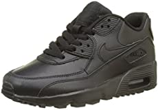 innovative design dad72 74276 Nike 833412-001 Kid s Air Max 90 Leather Running ...