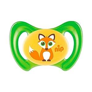 Nip chupetes Miss denti silicona tamaño 3 zorro verde, 1 St: Amazon ...