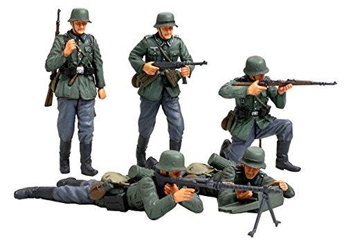 1:35 German Infantry Model Set