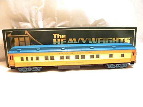 K-Line K85-1870-4 Toy Train Museum William Hafner Heavyweight Pullman Car O Gauge