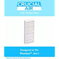 Hunter 30917 Air Purifier Filter Fits Model 30027 & 30028, Designed & Engineered by Crucial Air