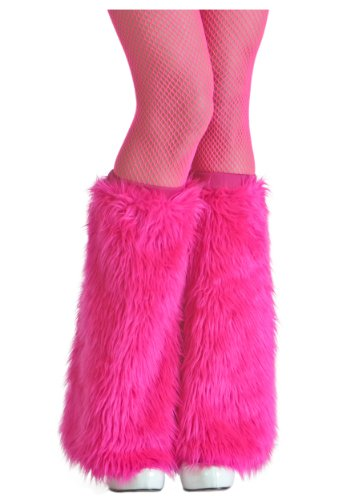 Fun Costumes Adult Pink Faux Furry Pink Boot Covers Standard]()