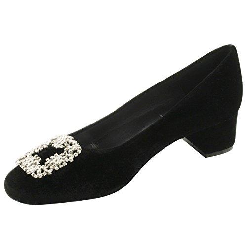 Schwarz Damen Exclusif Schuhe Paris Court 6wIwqOH
