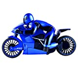SM SunniMix 1/16 Scale Simulation Model 2.4G Speed Drift Car Remote Control Motorcycle Toys Gift Blue
