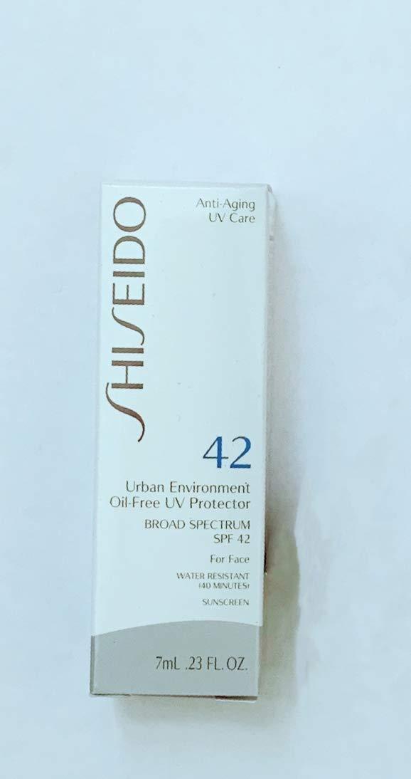 Shiseido Urban Environment Oil Free Uv Protector Spf 42 Pa Mini Size Buy Online In Bangladesh At Bangladesh Desertcart Com Productid 66755956