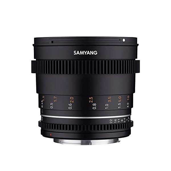 RetinaPix Samyang Enhanced Cine Lens, VDSLR 50MM T1.5 MK2, for Mount Canon RF Cameras