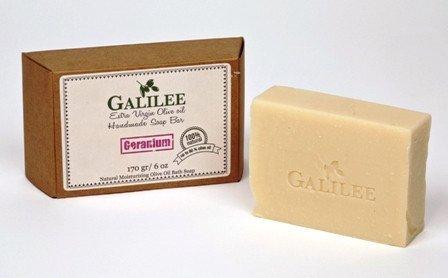 素人退却検索Galilee Magic ガリラヤオリーブオイルソープバー 3.5oz レモングラスオリーブオイル