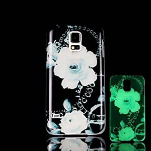 SHOUJIKE Samsung S5 I9600 compatible Graphic/Special Design/Glow in the Dark Plastic Back Cover