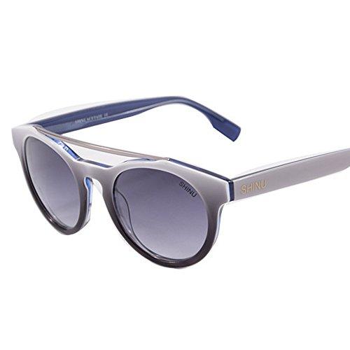 de Gafas los Unisex Sol óptica de UV400 de Color de Yxsd de de Gafas Retro Mujeres Clásicos Madera Madera Hombres Blanco Black bambú Tonos SunglassesMAN Aw0qWpIWR