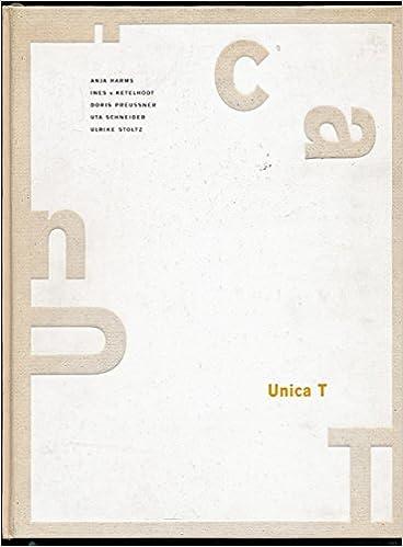 Unica T Zehn Jahre Künstlerbücher Katalog Anlässlich Der