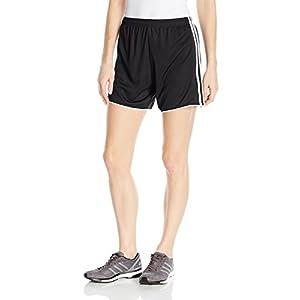adidas Women's Soccer Tastigo 17 Shorts, Black/White, Small