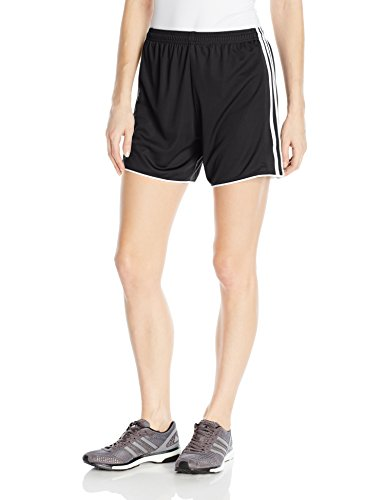 adidas Womens Soccer Tastigo 17 Shorts, Black/White, Large