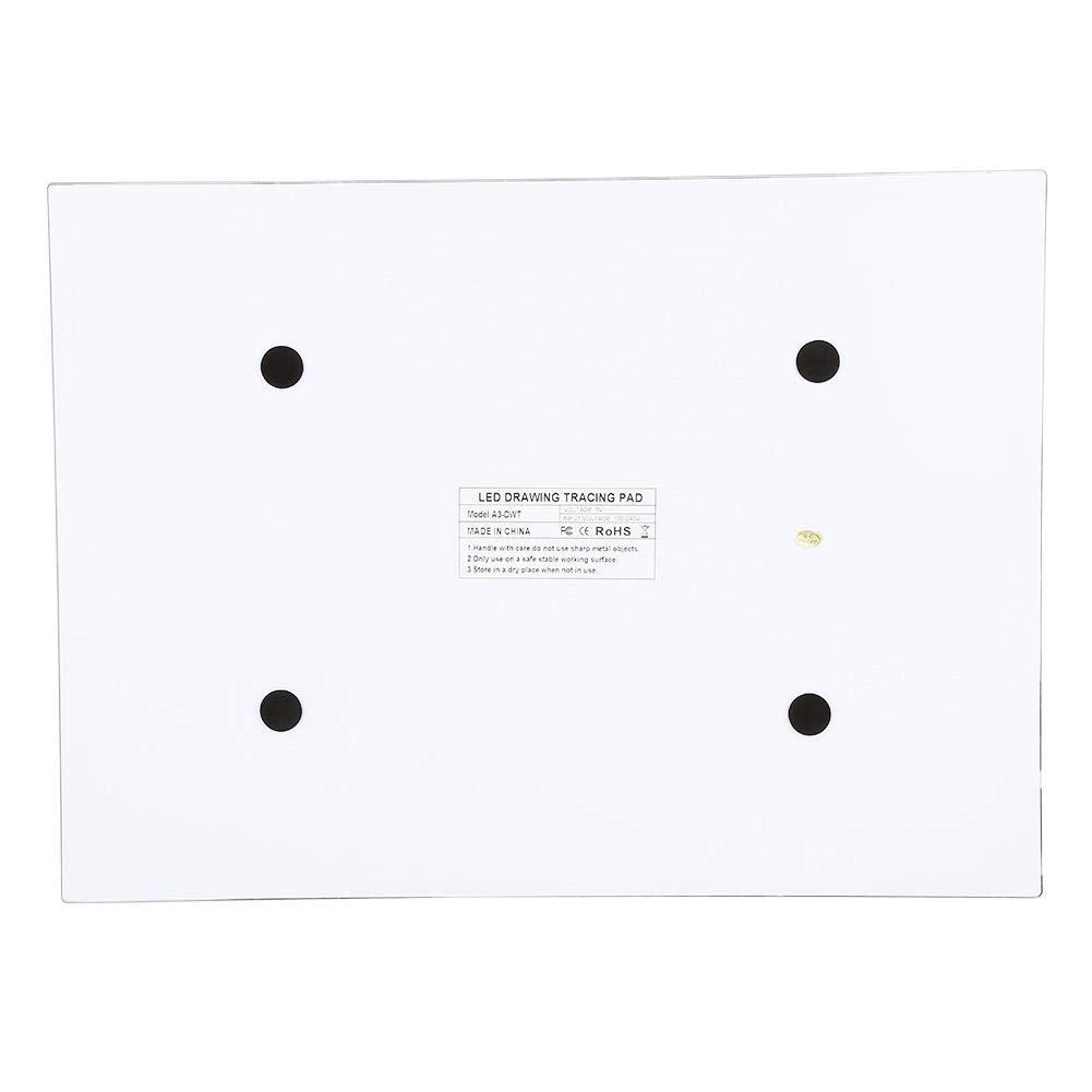 Tavoletta Luminosa A3 Super Sottile lavagna luminosa Light Board Tracing Light Box con Cavo USB Tavolette da Disegno per Gli Artisti,Disegno,Animazione,Abbozzare,Progettazione luminosit/à Regolabile