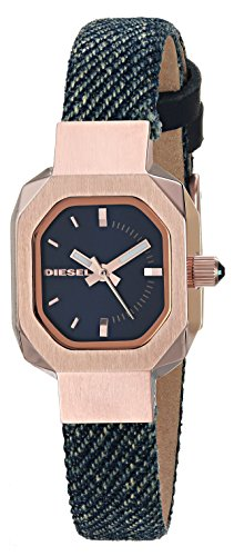 Diesel Women's 'Bad B.' Quartz Stainless Steel and Cloth Casual Watch, Color:Blue (Model: DZ5569)