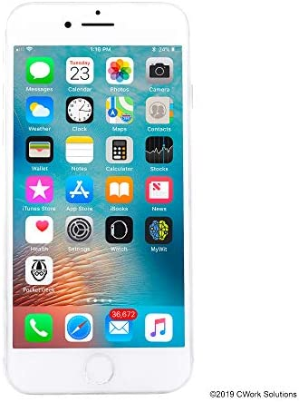 Apple iPhone 8, 64GB, Silver – For AT&T / T-Mobile (Renewed)