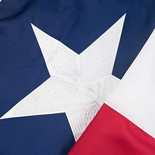 Jetlifee Texas State Flag – 3 x 5 Ft by U.S. Veterans Owne