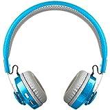 LilGadgets Untangled Pro Premium Childrens/Kids Wireless Bluetooth Headphones with SharePort (Blue)