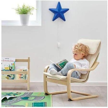 con rivestime IKEA Poäng in legno di betulla Poltrona cantilever per bambini