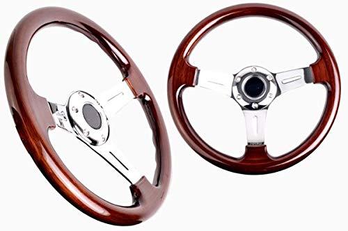 volant Bois 350mm Classique MC Performance Voiture E30E28E211271241430MK1 Modifycar