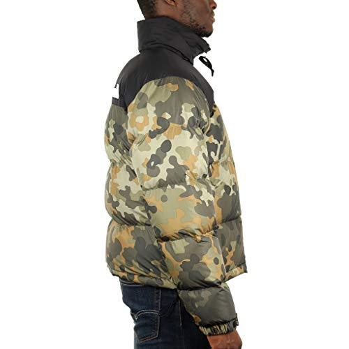 Nuptse North Veste 1996 Vert Homme The Multicolore Face qvwg1g7