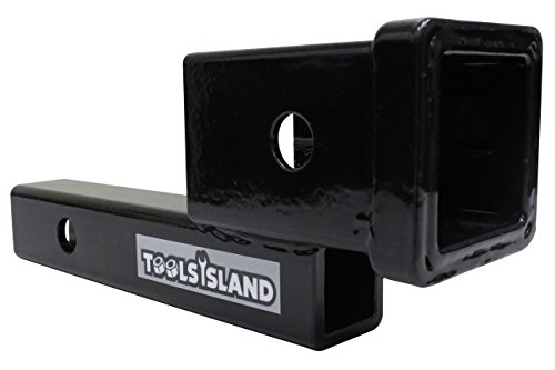 Tools Island hitchmember mount conversion adapter hitch carrier cargo for outdoor goods TD1040 by Tools Island
