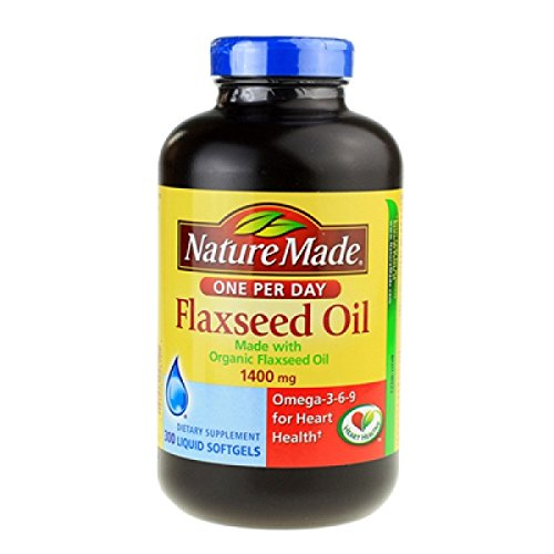 Nature Made Organic Flaxseed Oil - 300 Softgels