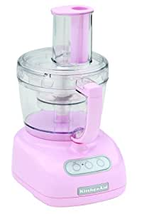 KitchenAid KFP750PK 700-Watt 12-Cup Food Processor, Cook for the Cure Komen Foundation Pink