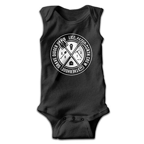 Richard Lyons Unisex Newborn Bodysuits Brotherhood Grave Digger Union Girls Babysuit Sleeveless Jumpsuit Sunsuit Outfit 18 Months (Grave Digger Outfit)
