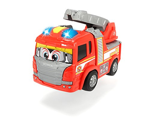 Dickie Toys Happy Scania Fire Truck Vehicle