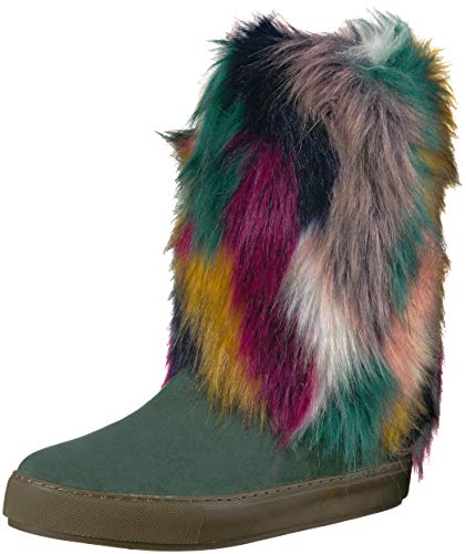 Kenny Loves Penny Green Fashion Microsuede Airbrush Boot Women's xy8wp75waq