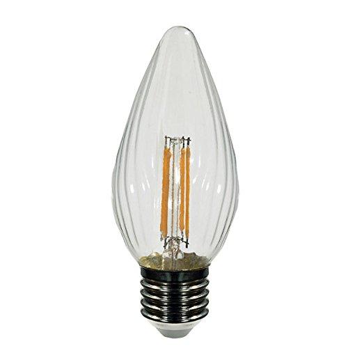 Bombilla antorcha LED filamento 4W E27 3000ºK 400Lm.: Amazon.es: Iluminación