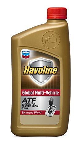 Havoline 226537482 – 6pk Global Multi-Vehicle ATF, 6 quart, 12 Pack