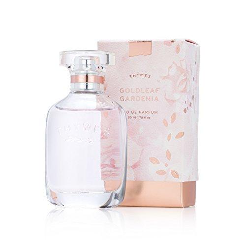 Thymes Goldleaf Gardenia Eau de Parfum - Light Floral Scented Perfume - 1.75 oz -  637666040929