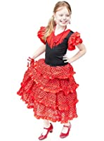 flamenco rose ein dunkelrot flamenco stil stoff blume. Black Bedroom Furniture Sets. Home Design Ideas