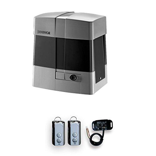 Electric Slide Gate Opener Beninca Bull 1024R CPanel, Receiver, 2 remote Control