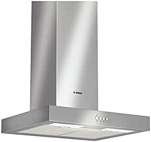 Bosch DWB062750 - Campana (770 m³/h, Canalizado/Recirculación, Wall-mounted cooker hood, Acero inoxidable, 2 lamp(s), Metal)