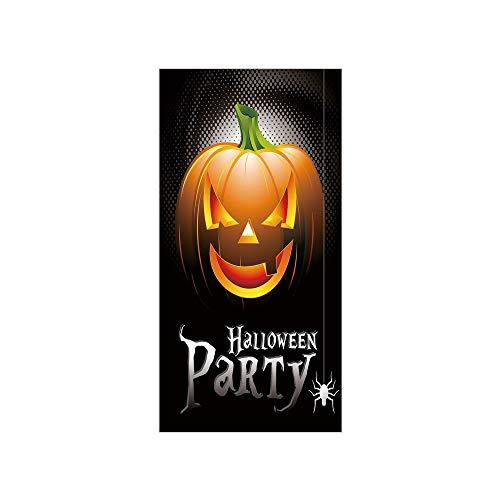 Decorative Privacy Window Film/Halloween Party Theme Scary Pumpkin