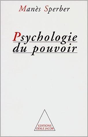 Téléchargement gratuit de livres audio en anglais Psychologie du pouvoir by Manès Sperber PDF