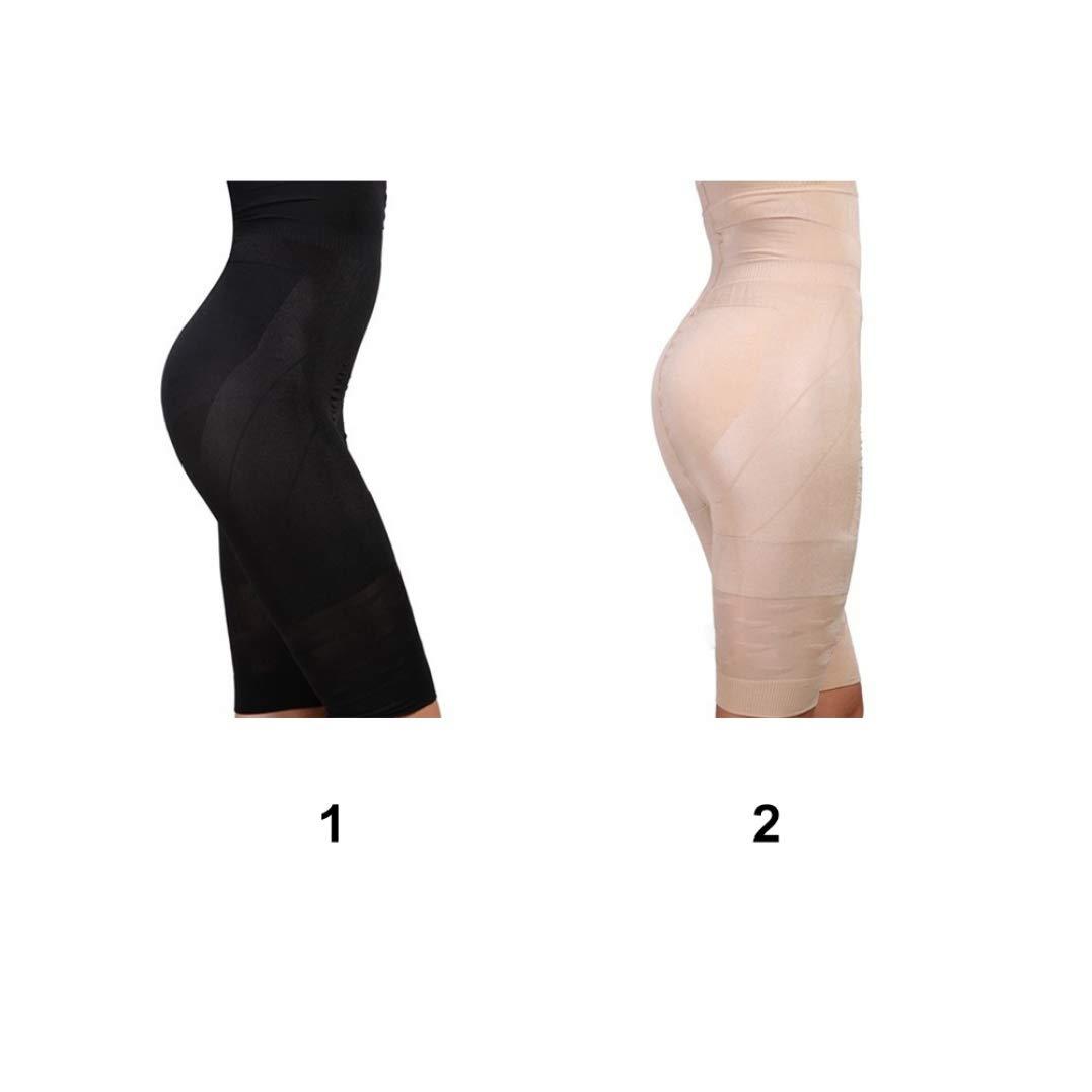 XOKIMI Womens Plus Size High Waist Control Panties Shapewear Thigh Slimmer