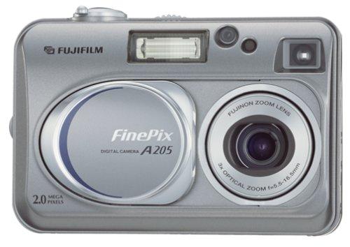 amazon com fujifilm finepix a205 2mp digital camera w 3x optical rh amazon com Fujifilm FinePix XP Fujifilm FinePix Camera Manual