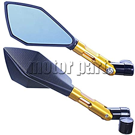 Sports & Outdoors Fincos Rearview Mirrors for Hyosung GT650