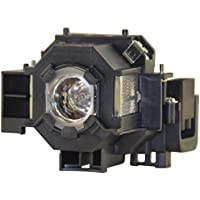 Replacement For EPSON POWERLITE 83C LAMP & HOUSING Replacement Light Bulb