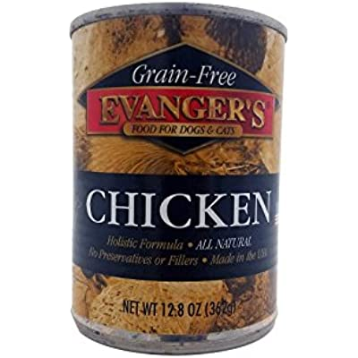 Evanger'S Grain Free Chicken Dinner For Dogs, 12 Pack, 13-Ounce Cans