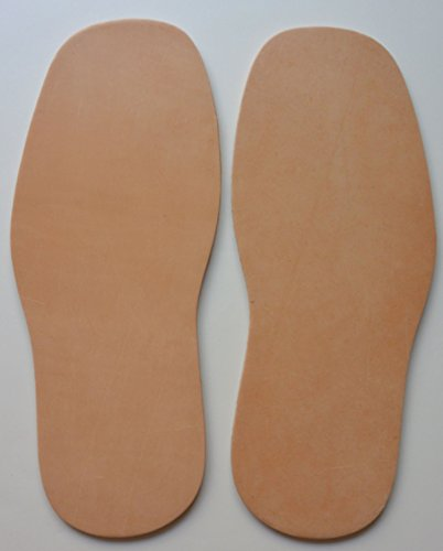 Full Soles Veg Tooling Leather Shoe Boot Repair Replacement 4-5.5 mm New XL (5.5 mm)