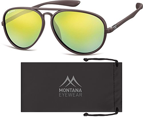 Montana Unisex Orange Gafas Adulto Multicolor Sol Revo Brown de wqBz4wvxng