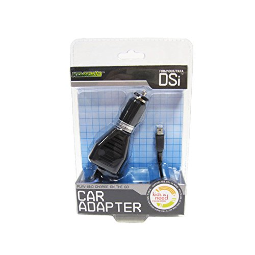 Komodo DSi Travel Car Adapter Charger, Black (Car Adapter Dsi)