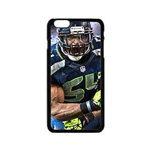 Personal Customization Seattle Seahawks NFL Football Sport Black Phone Case for Iphone6