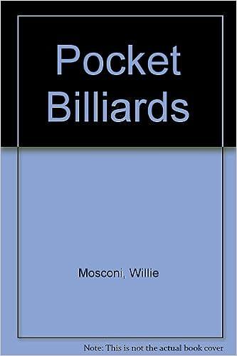 willie mosconi on pocket billiards willie mosconi amazon com books