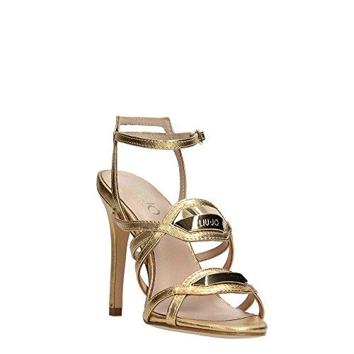 Liu Jo Shoes S15091 P0096 Sandalia Mujer Gold